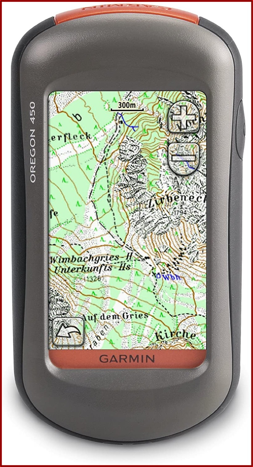 Garmin Oregon 450 Maps