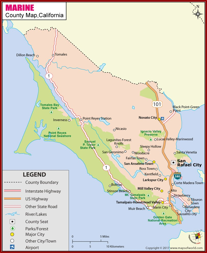 Google Maps Sonoma County California