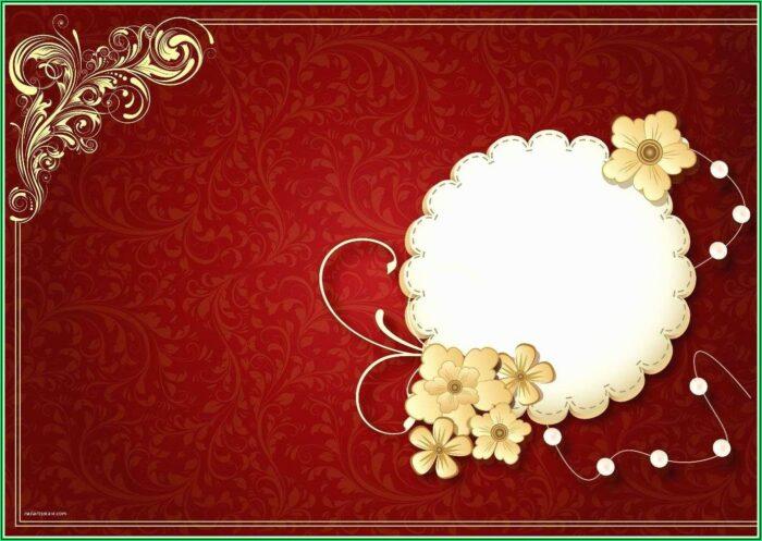 Indian Wedding Card Design Psd Free Download