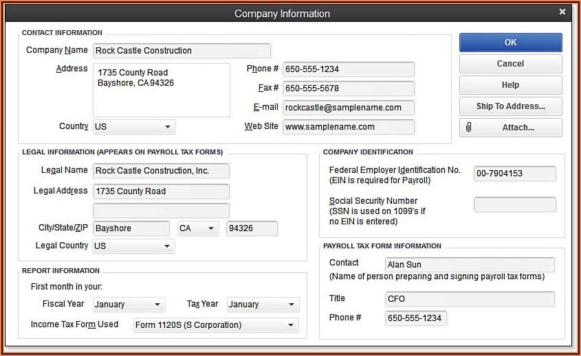 Intuit Payroll Tax Forms