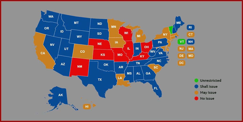 Iowa Permit To Carry Other States