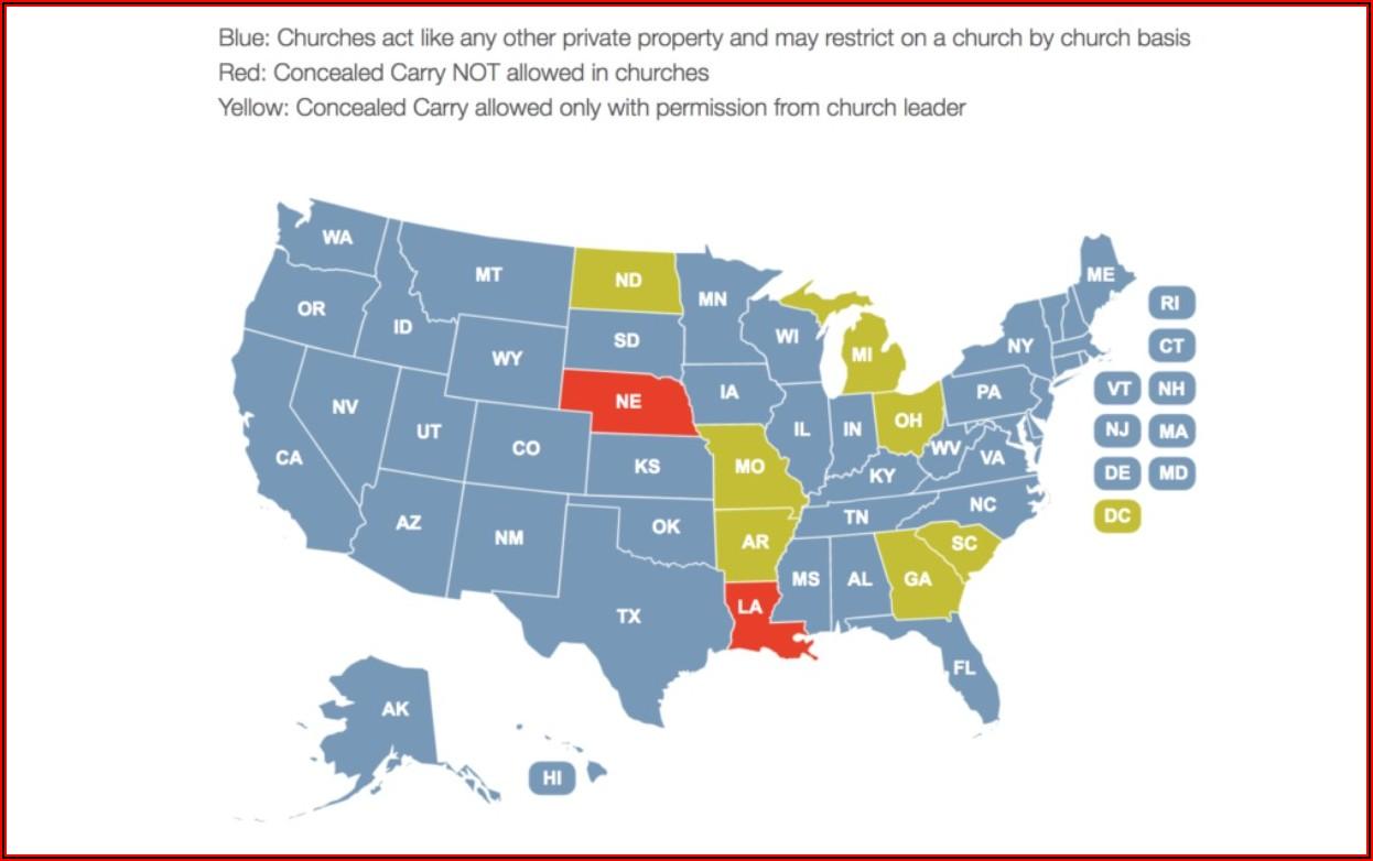 Iowa Permit To Carry States