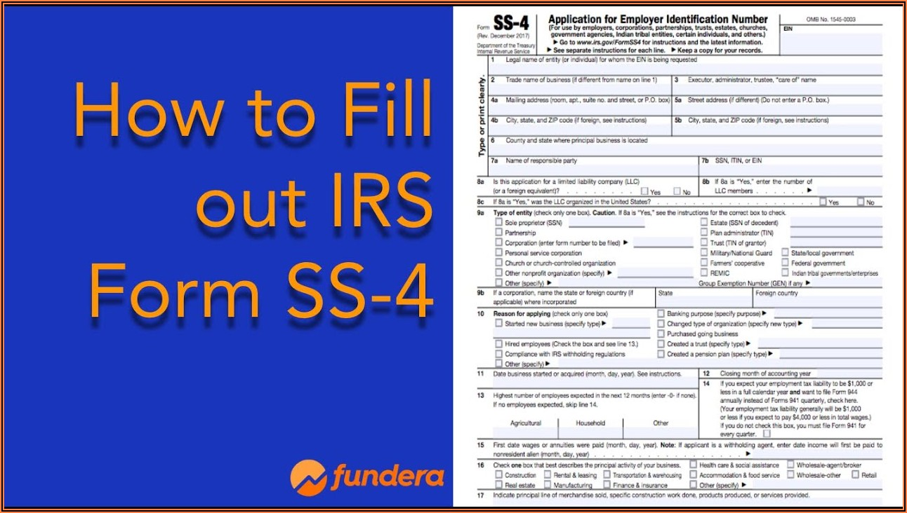 Irs Form Ss 4