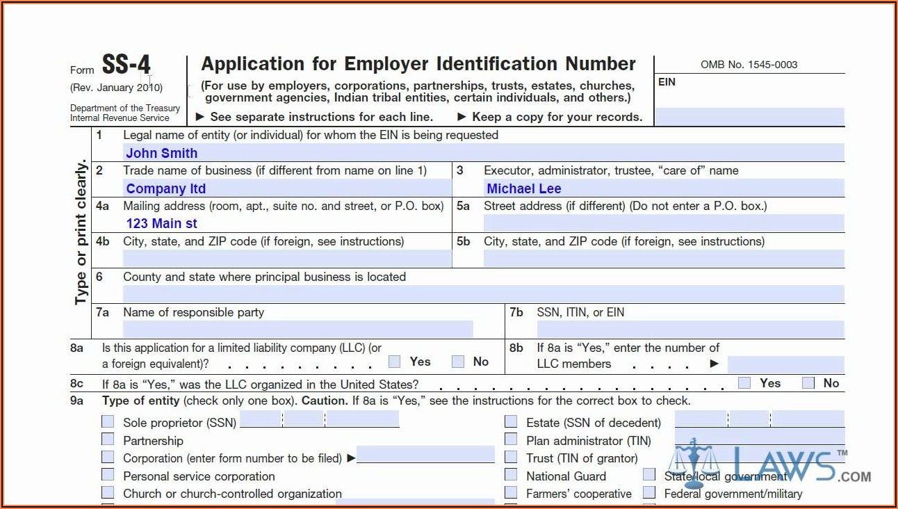 Irs Forms Ss 4 Instructions