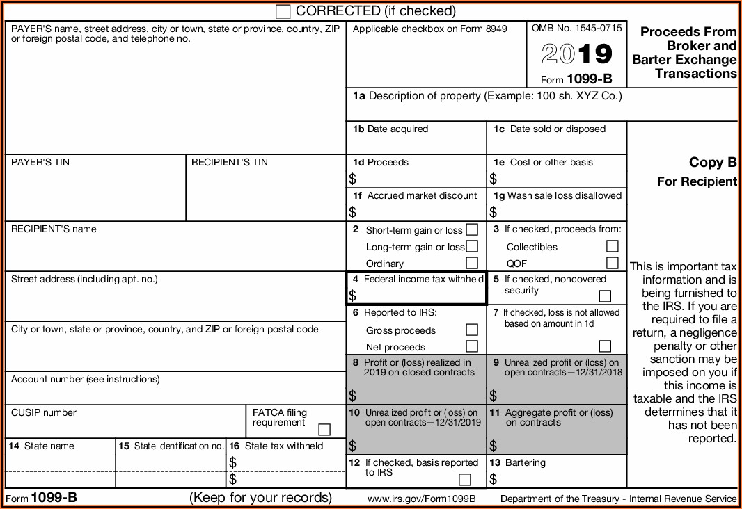 Irs.gov 1099 Forms 2018