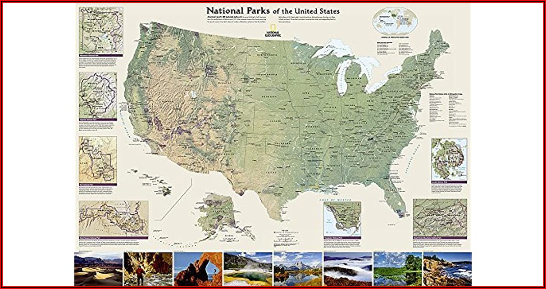 Laminated Maps Of The United States