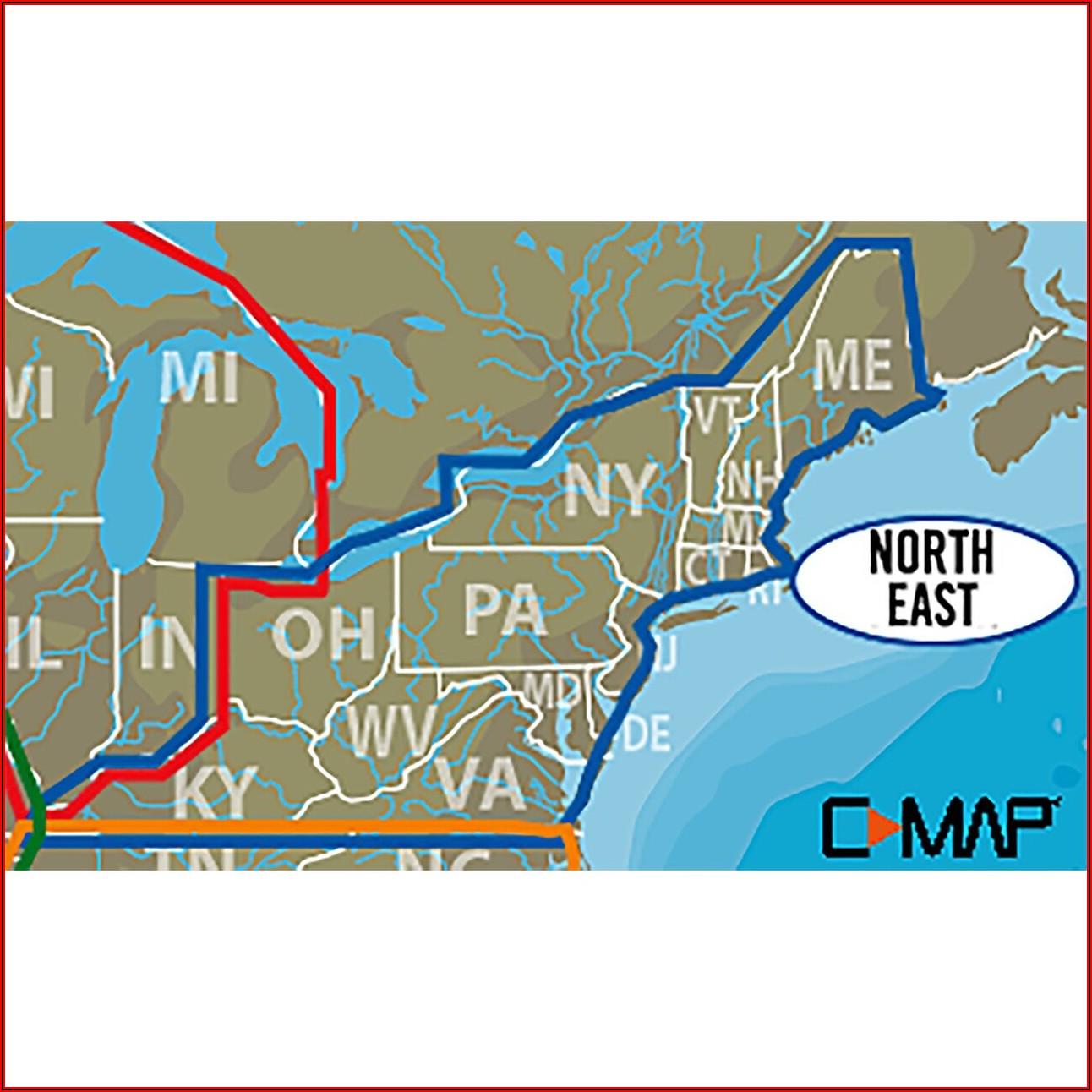 Lowrance C Map Lake Insight Hd Northeast Us