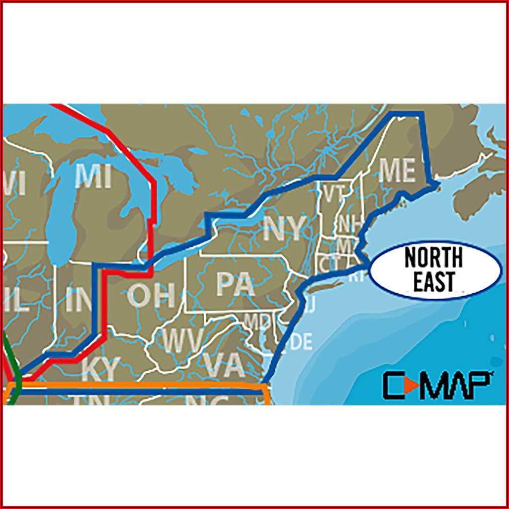 Lowrance C Map Lake Insight Hd Southeast Us