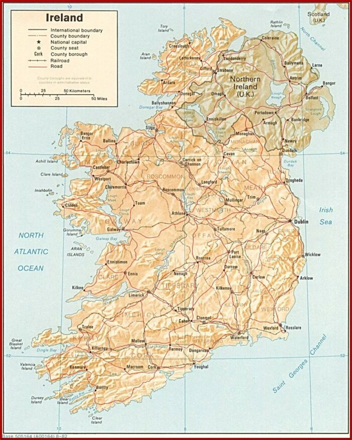 Map Of Golf Courses In Southern Ireland