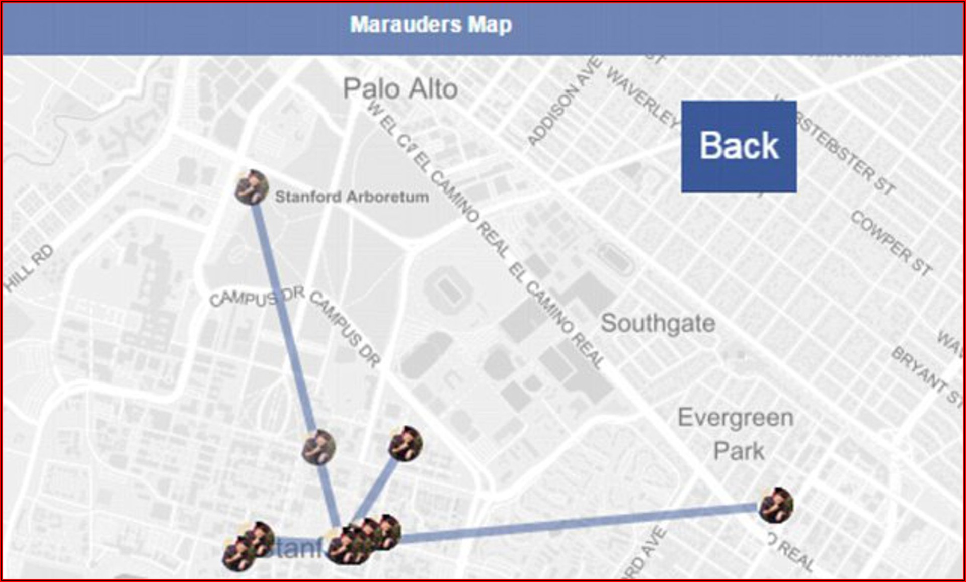 Marauders Map Online Facebook