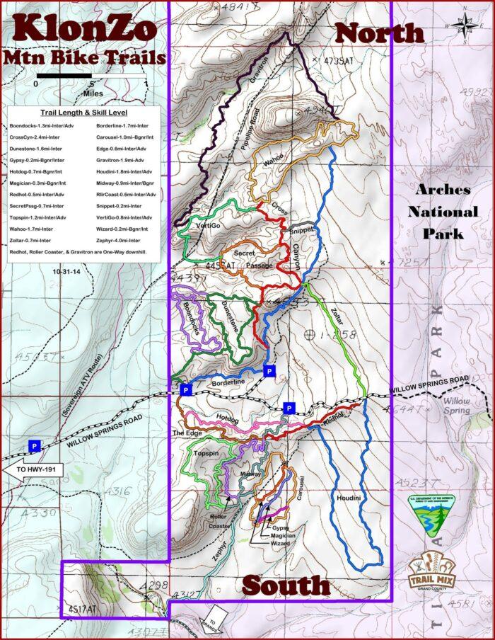 Moab 4x4 Trail Maps