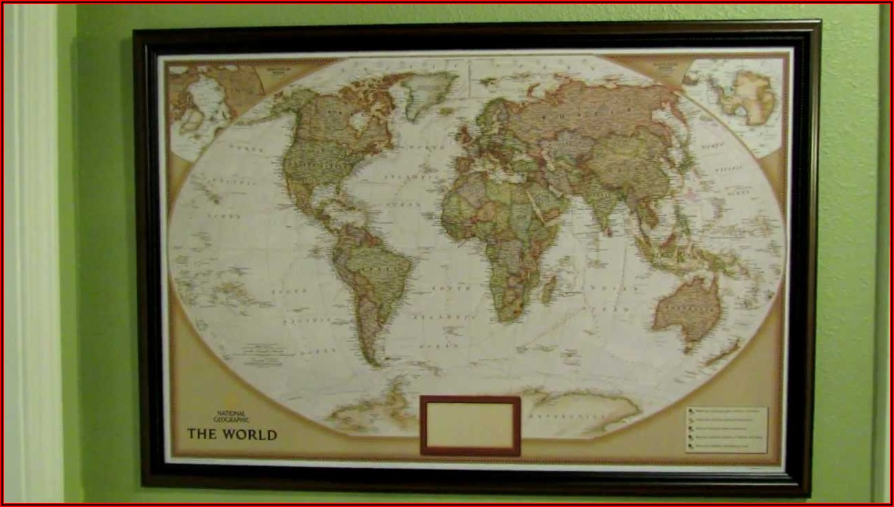 National Geographic Personalized Map