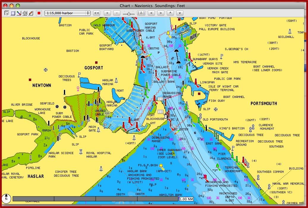Navionics Gold Map Chip