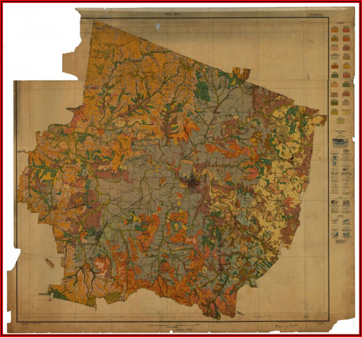 Old Maps Of Maury County Tn