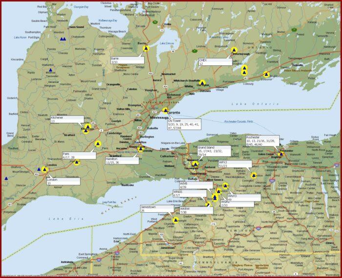 Ota Antenna Map Ontario