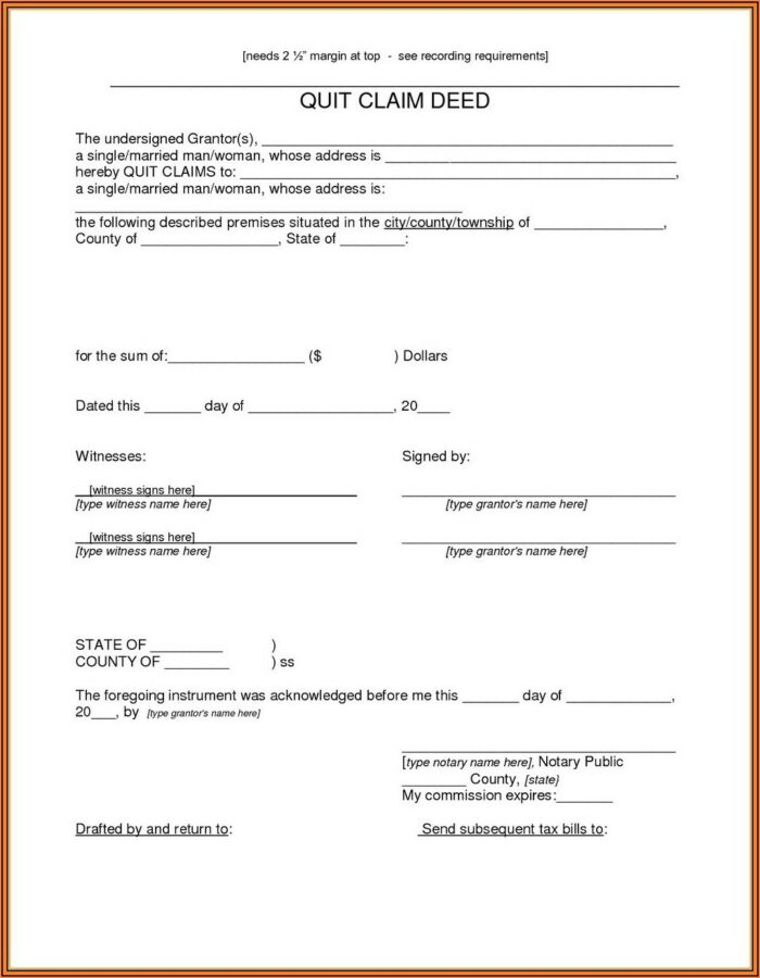 Printable Beneficiary Deed Form Arizona