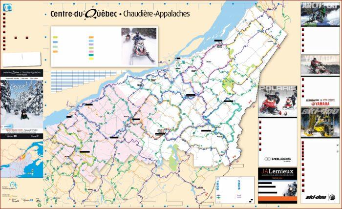 Quebec Gps Snowmobile Trail Maps
