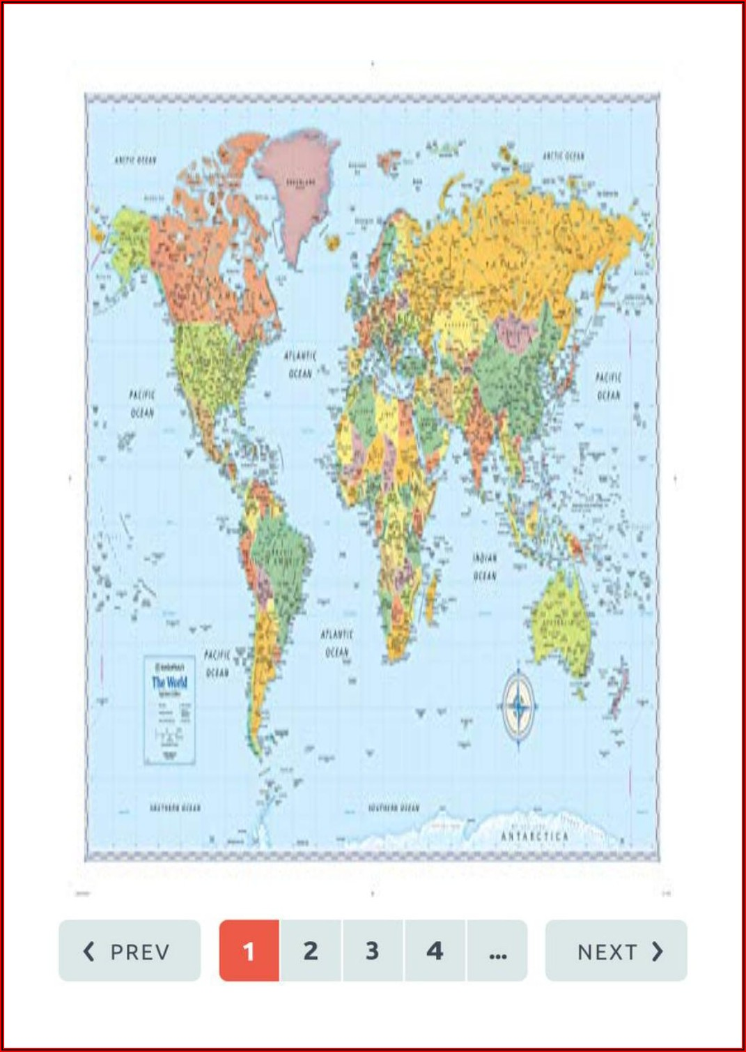 Rand Mcnally World Map Pdf