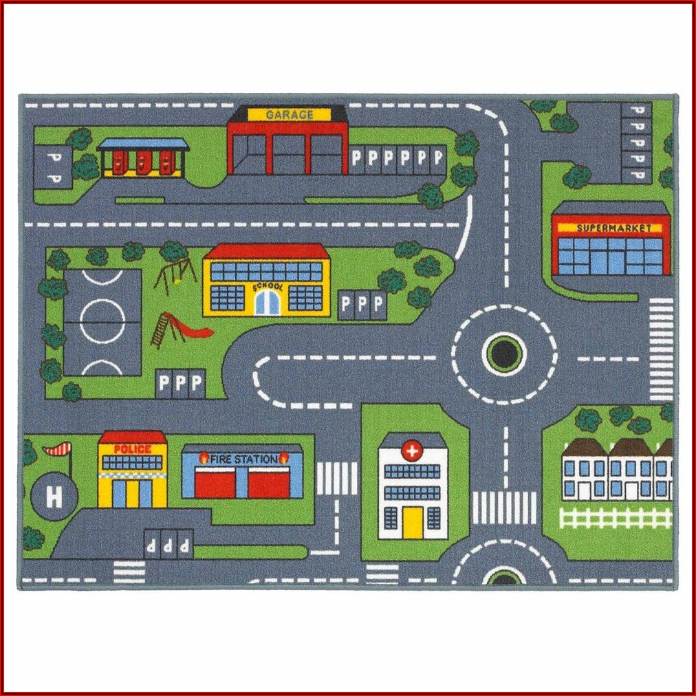 Road Map Rugs