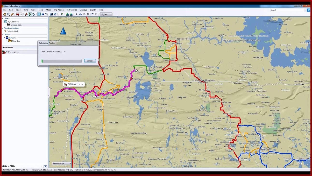 Snowmobile Trail Maps For Garmin Nuvi