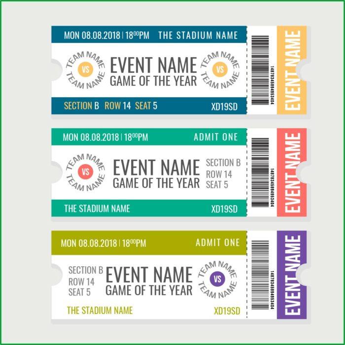Ticket Template Downloads