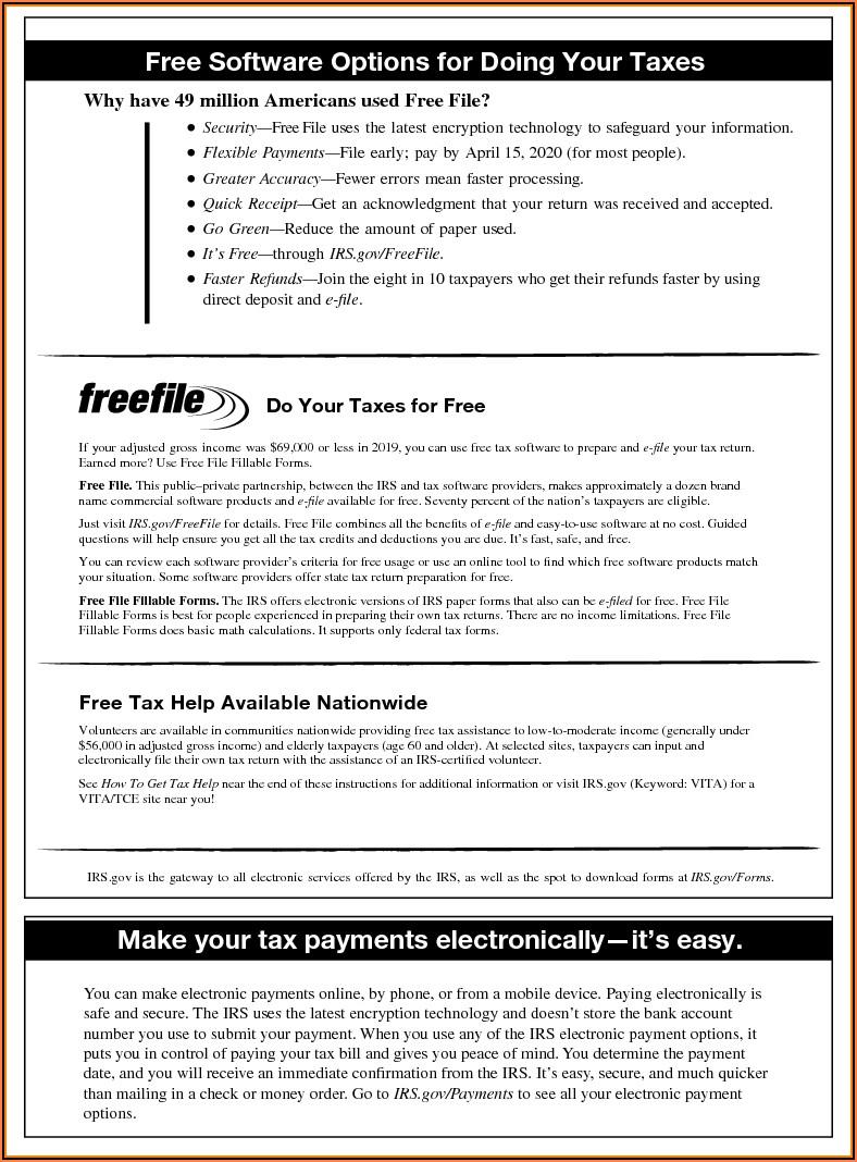 Us Gov Tax Forms 1040ez