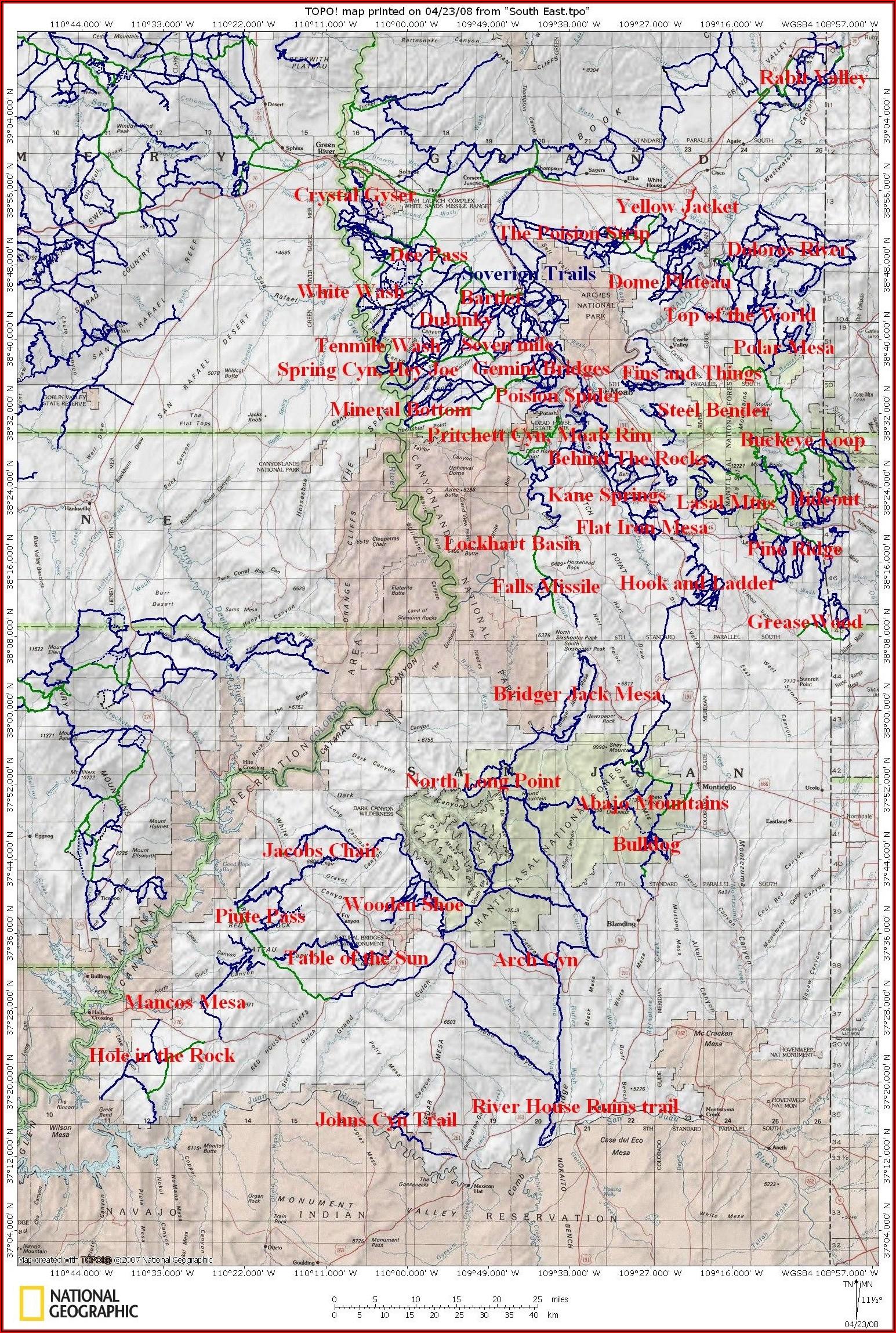 Utah Utv Trail Maps