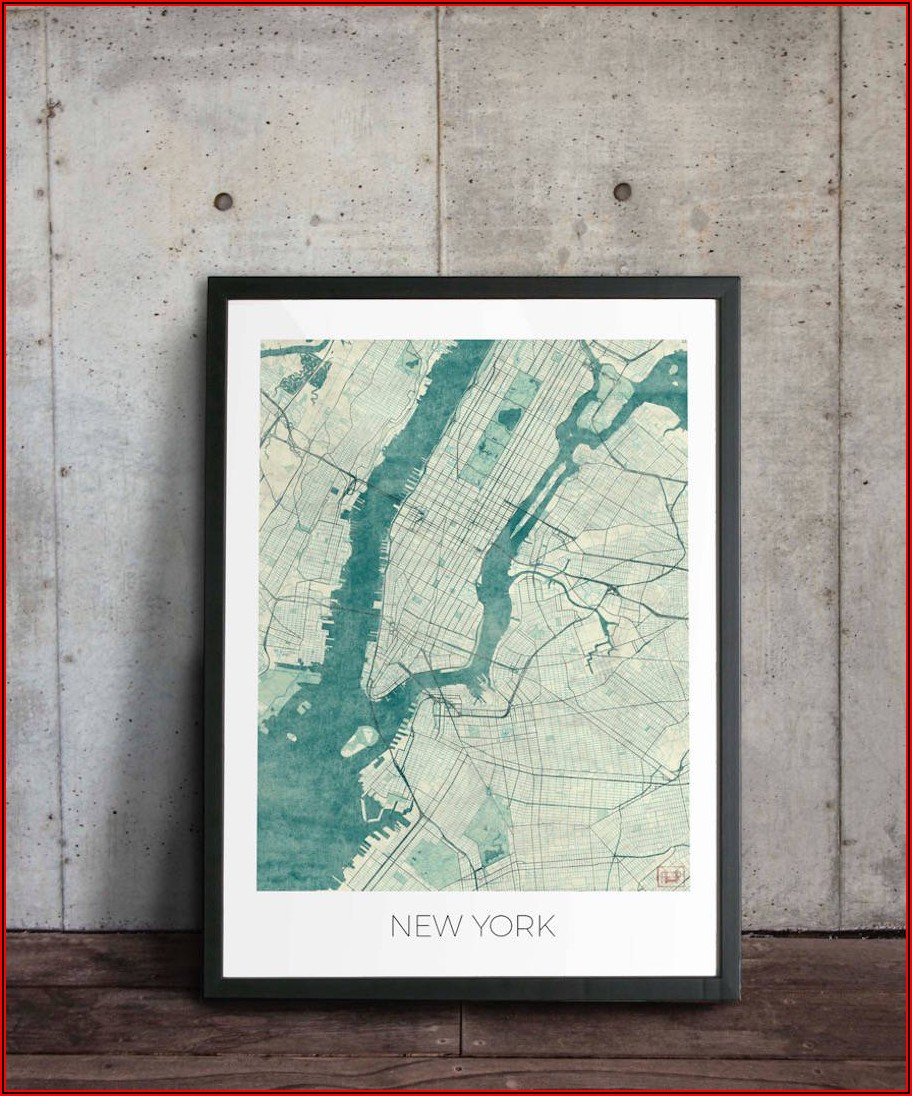 Vintage City Map Posters