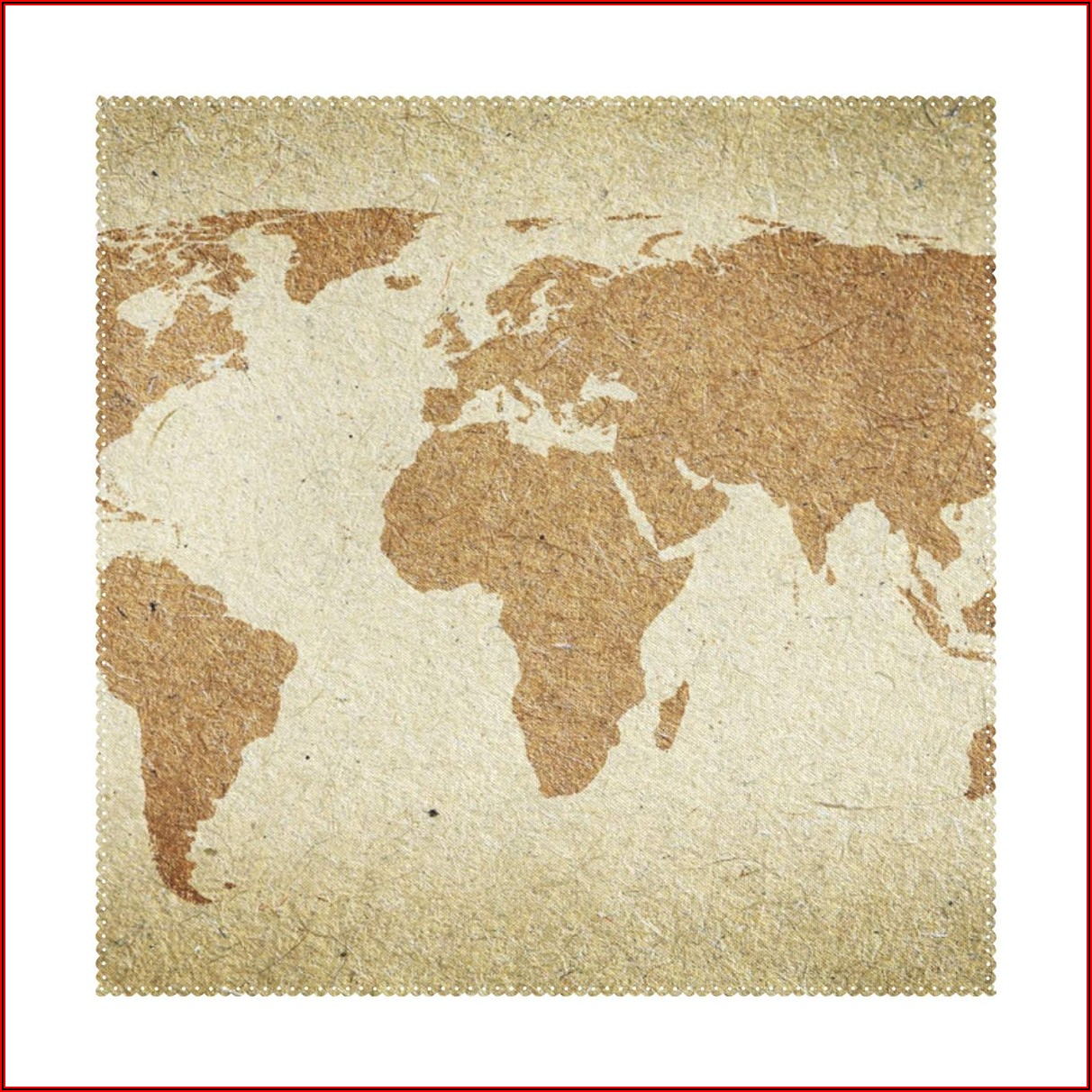 Vintage World Map Placemats