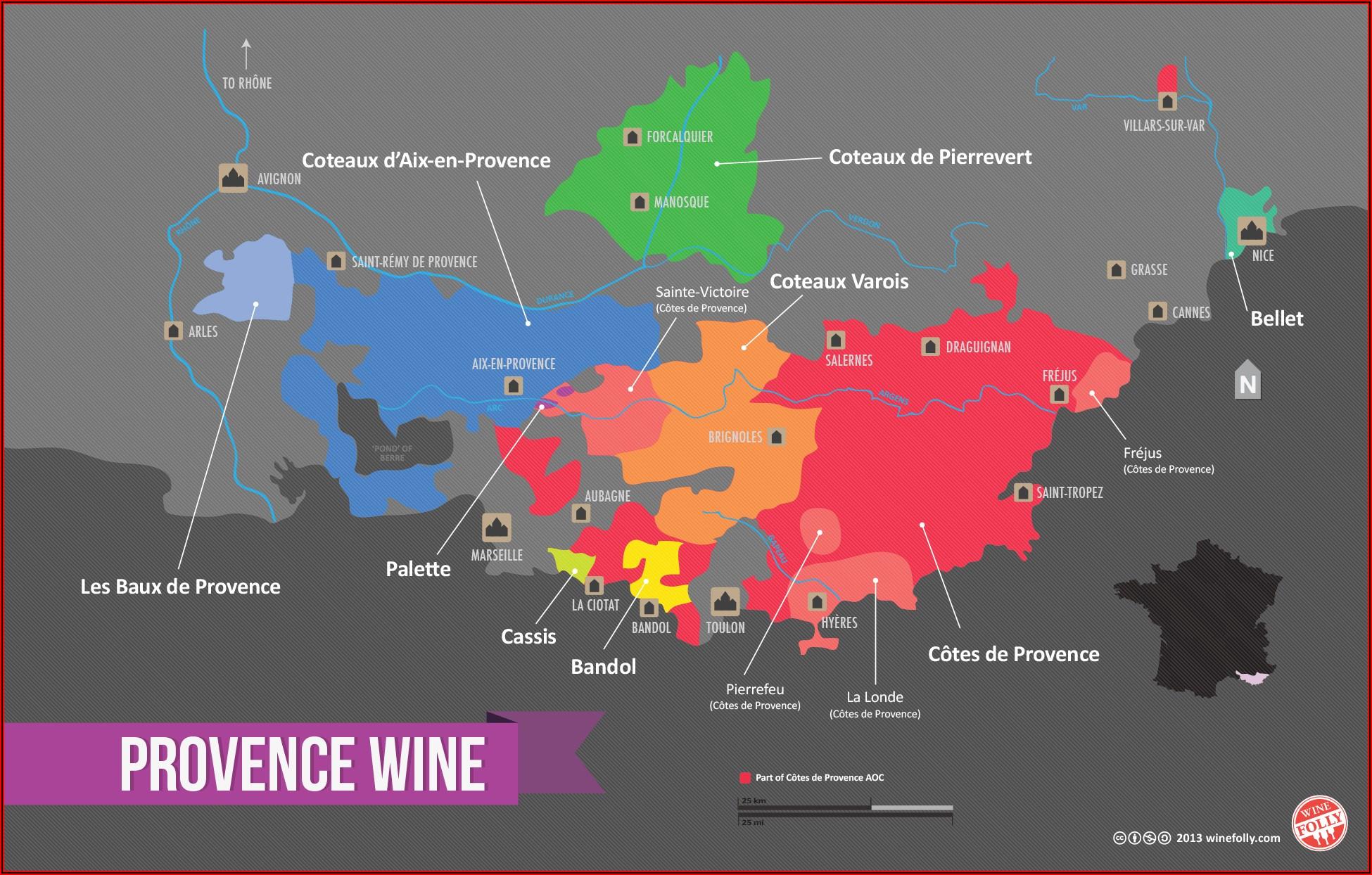 Wine Region Maps