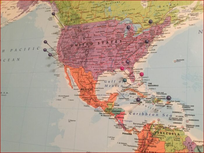 World Map Fabric Hobby Lobby