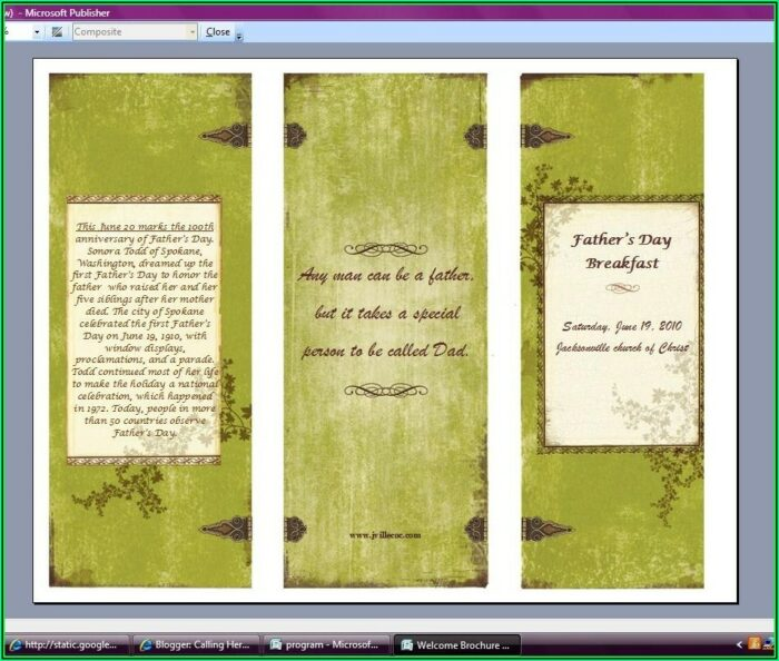 Youth Ministry Newsletter Templates