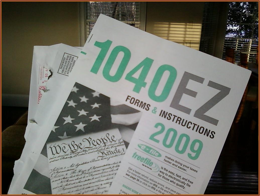 2010 Form 1040ez