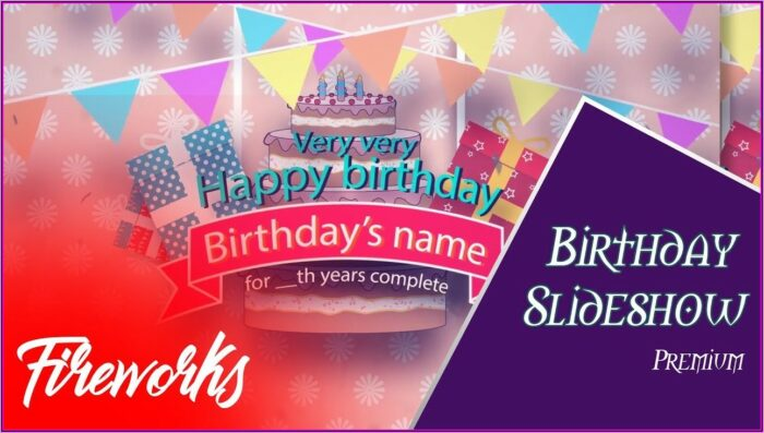 After Effects Birthday Template Free