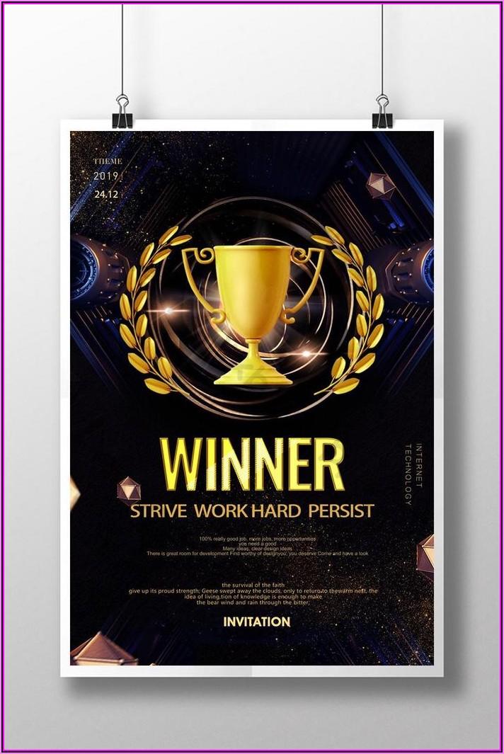 Award Ceremony Invitation Template Free Word