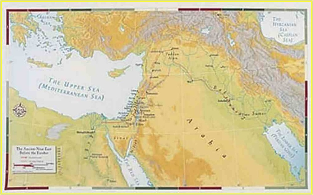 Bible Land Maps
