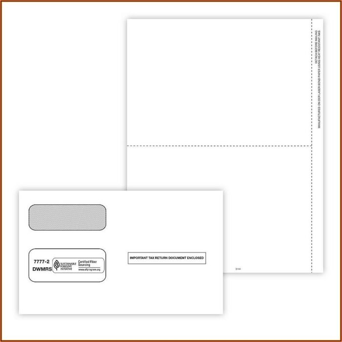 Blank 1099 Tax Forms