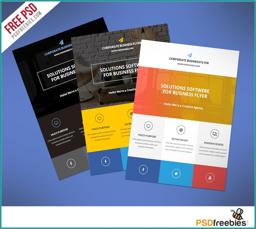 Commercial Cleaning Brochure Templates