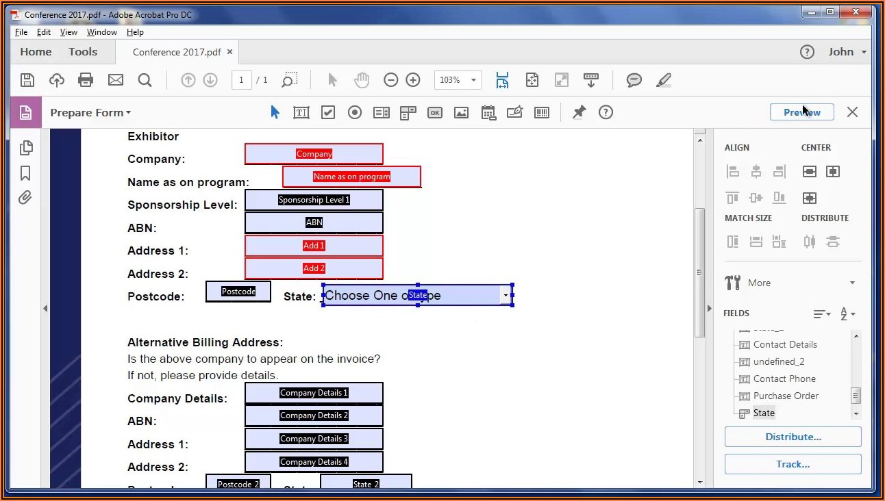 Create Fillable Forms In Pdf From Word