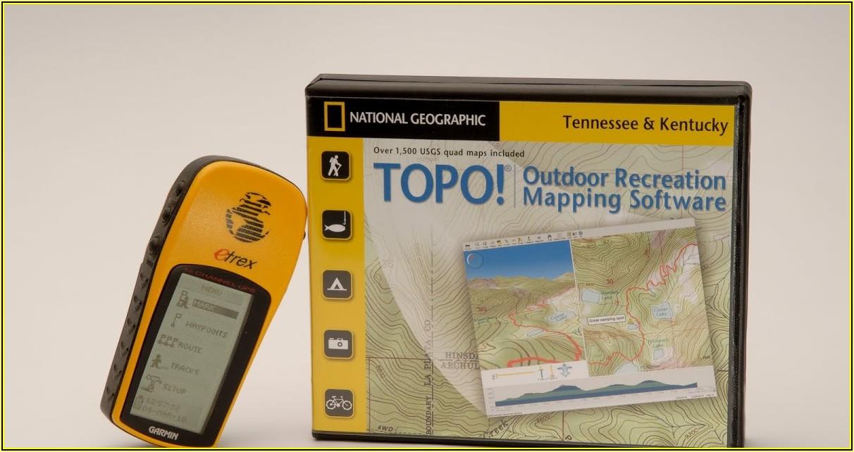 Etrex 30 Topo Maps