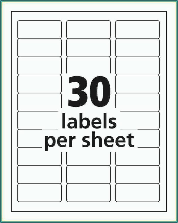 Free Mailing Label Templates For Word