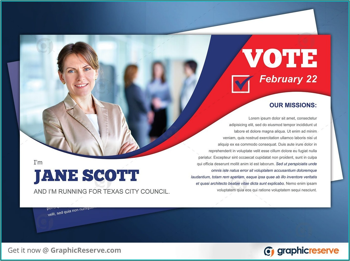 Free Political Postcard Templates