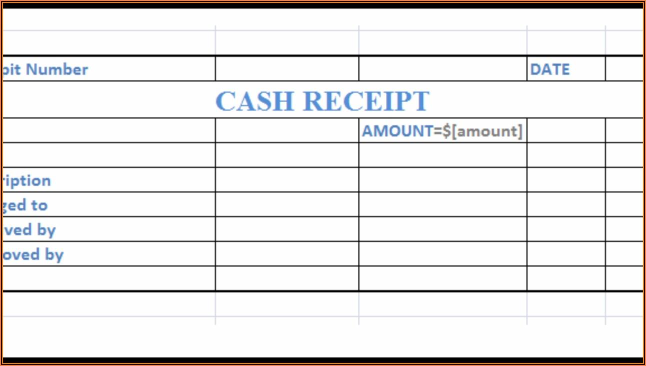 Free Receipt Format In Word