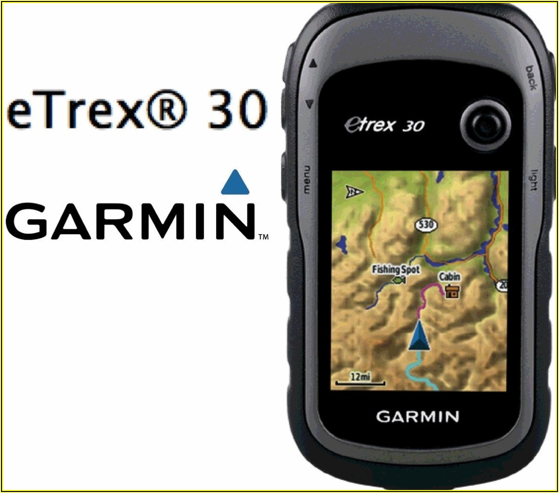 Garmin Etrex 30 Maps