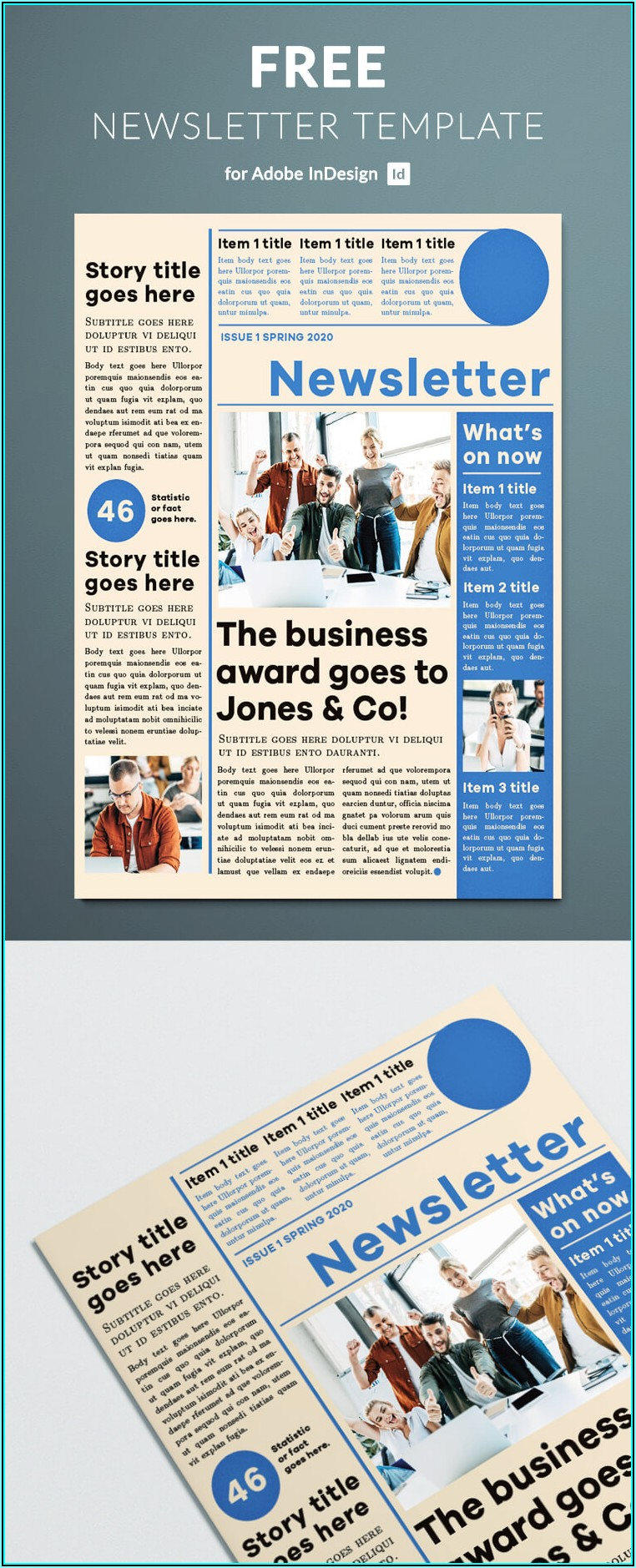 How To Create A Newsletter Template In Adobe Indesign