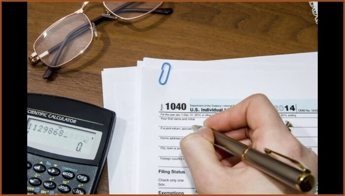 How To Fill Out 1040 Tax Form 2015