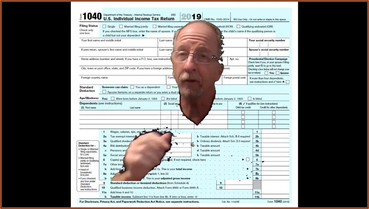 How To Fill Out 1040 Tax Form 2019