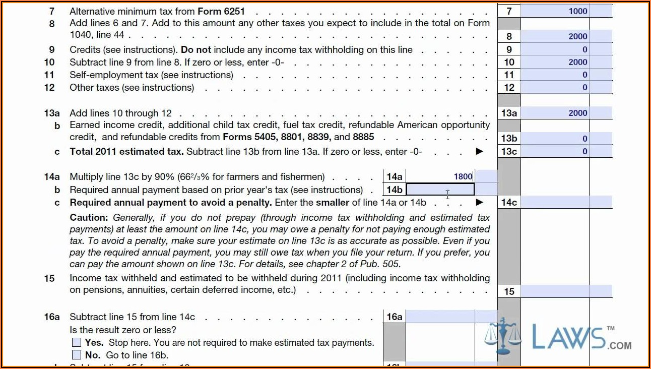 How To Fill Out 1040 Tax Form
