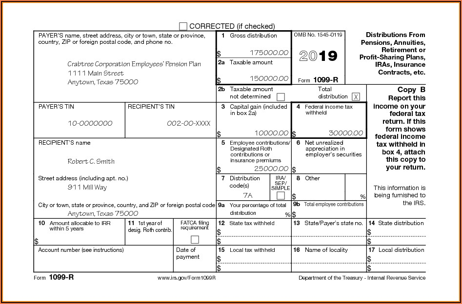 Irs.gov Form 1099 B
