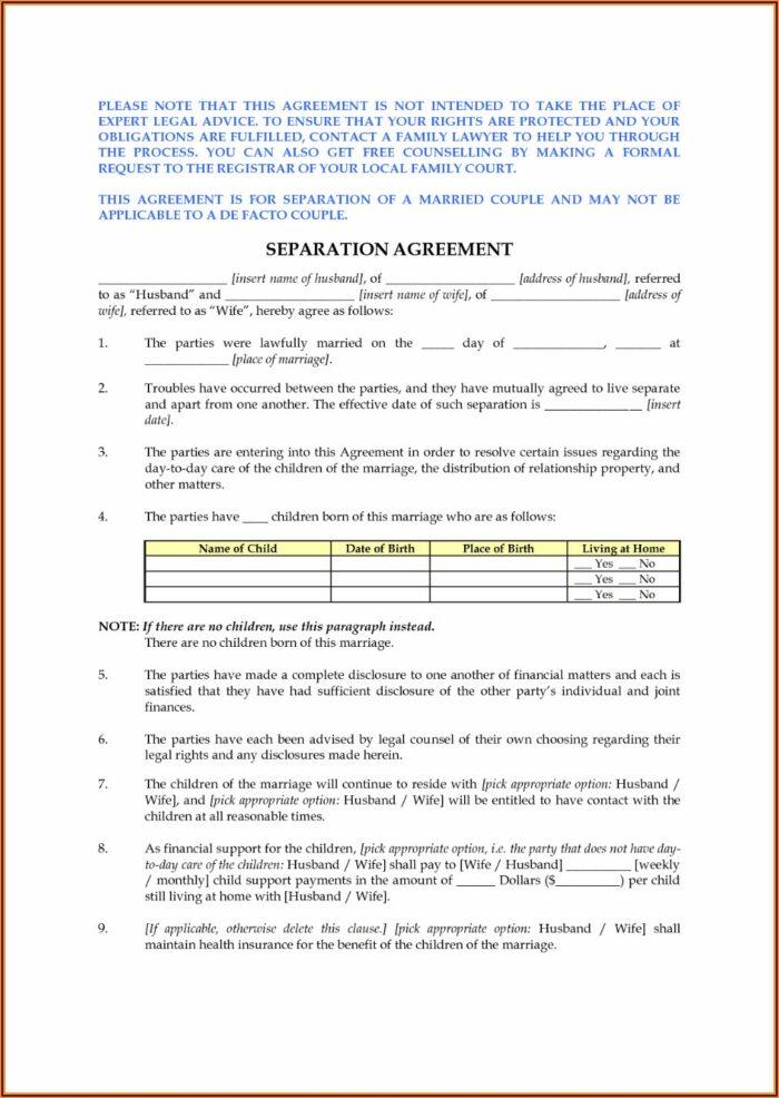 Nc Divorce Forms Download